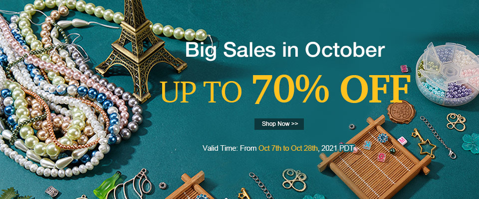 Big Sales in October UP TO 70% OFF