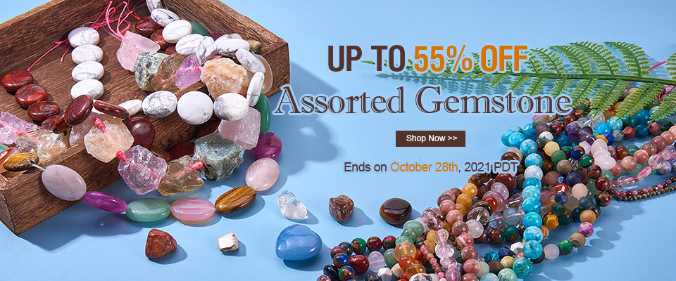 Assorted Gemstone UP TO 55% OFF