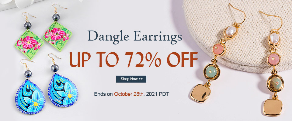 Dangle Earrings UP TO 72% OFF