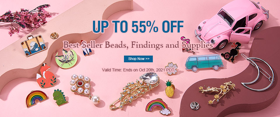 Best Seller Beads,Findings and Supplies  UP TO 55% OFF