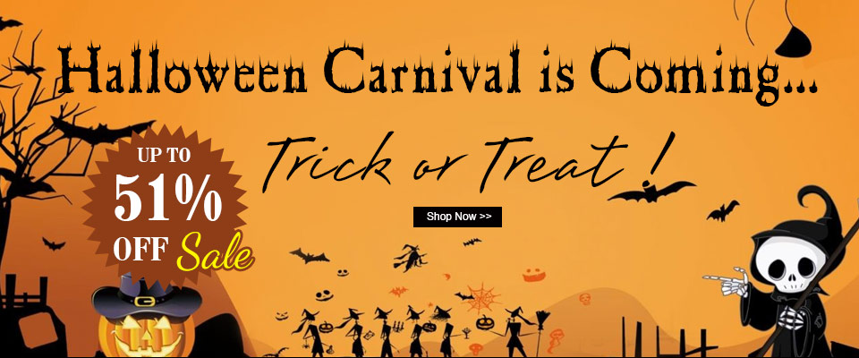Happy Halloween UP TO 51% OFF SALE
