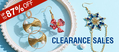 Clearance Sales UP TO 87% OFF