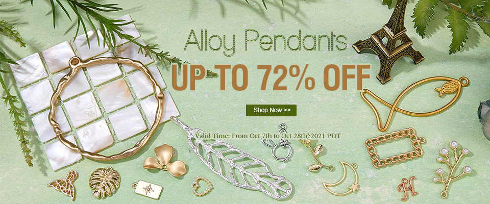 Alloy Pendants UP TO 72% OFF