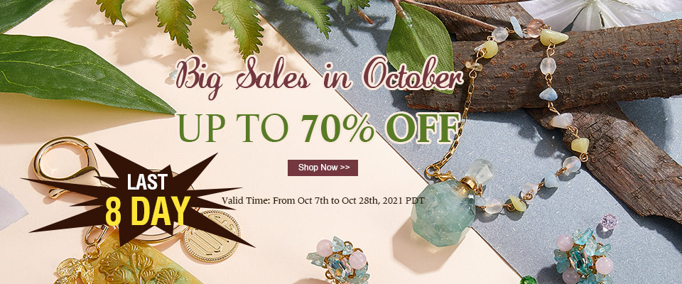 LAST 8 DAY ! Big Sales in October  UP TO 70% OFF